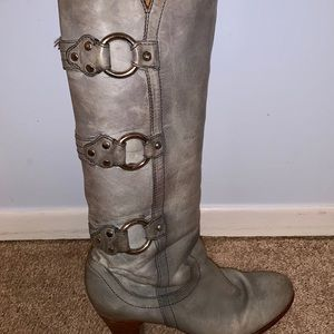 """FRYE """"Fiona"""" boots."""